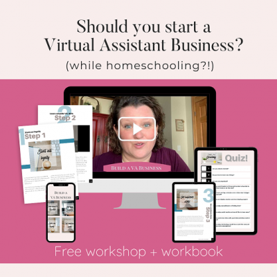 Should you start a VA Business? Free class and workbook!